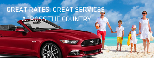Car rental services at the best rates in the Cayman Islands