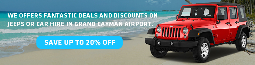 Best Car rental deals and discounts in the Cayman Islands